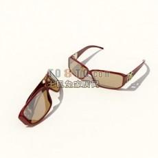 眼镜3d模型下载