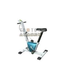 跑步机、健身器等室内建设器材173d模型下载