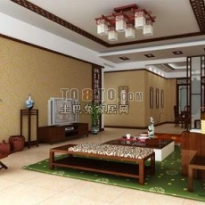室内精选-0123d模型下载
