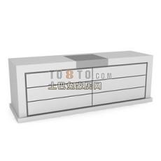 办公柜-文件柜2-5套3d模型下载