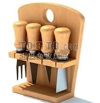 厨具3d模型下载