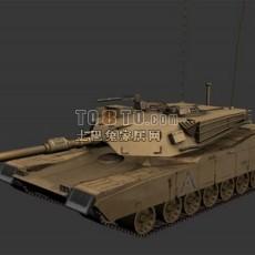 M1坦克3d模型下载