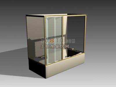 3D淋浴房模型-008