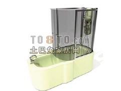 3D潜洁具模型-淋浴房20套