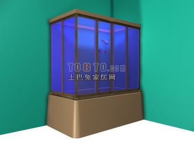 淋浴房3d效果图制作素材库、3Dmax模型下载3