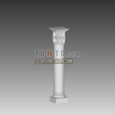欧式构件009(57套)3d模型下载