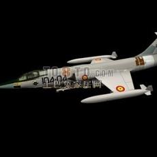 飞机-战斗机23d模型下载