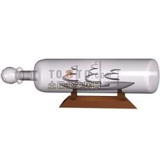 酒瓶酒架3d模型下载