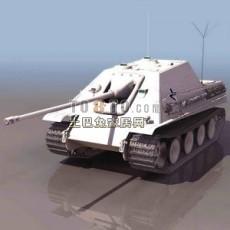 坦克兵器素材93d模型下载