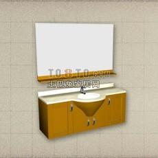 卫浴镜3d模型下载