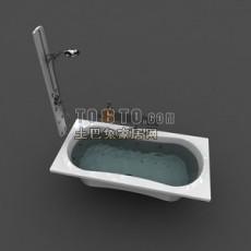 浴缸183d模型下载