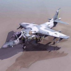战斗机-飞机素材223d模型下载