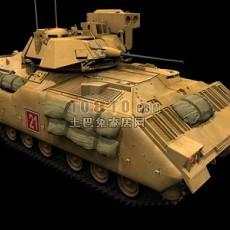豹式g型坦克3d模型下载