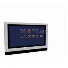 壁挂电视3d模型下载