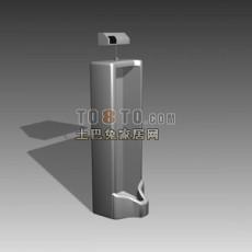 小便斗3d模型下载