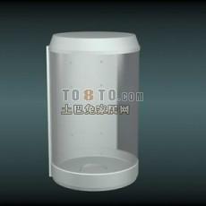 淋浴间3d模型下载