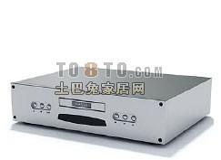 影碟机3d模型下载
