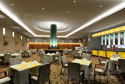 现代餐馆3D模型下载18