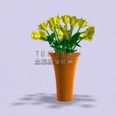 鲜花3d模型下载