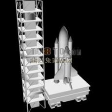 航天飞机3d模型下载