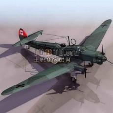 战斗机免费3d模型下载