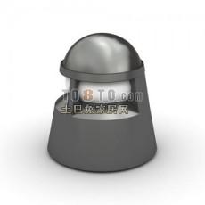 草坪灯3d模型下载