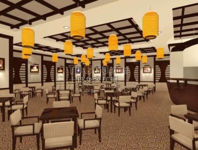 餐厅模型免费下载20