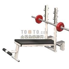跑步机、健身器等室内建设器材63d模型下载