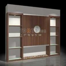 壁柜、橱柜-现代家具素材20081130更新773d模型下载