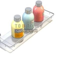 化妆品,瓶子,香皂盒等洗浴用品8-5套3d模型下载