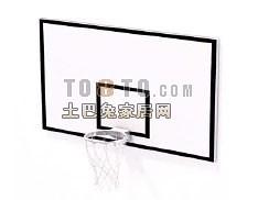 体育健身器材-篮球框3套3d模型下载