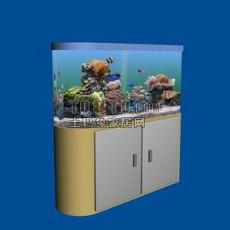 鱼缸柜3d模型下载