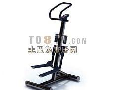 体育健身器材-跑步机10套3d模型下载