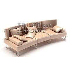 国外精品沙发1-5套3d模型下载