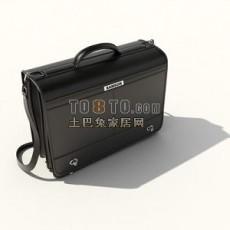 公文皮包3d模型下载