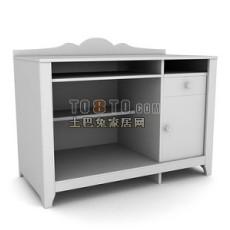 办公柜-文件柜1-5套3d模型下载