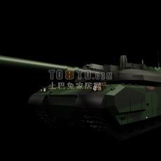 坦克兵器素材233d模型下载
