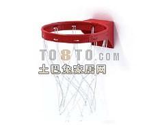 篮球筐2-体育用品素材3d模型下载
