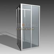 沐浴房3d模型下载