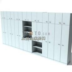 办公柜-含材质-26套3d模型下载