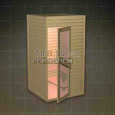 淋浴房3d模型下载