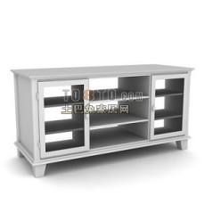 办公柜 文件柜3d模型下载