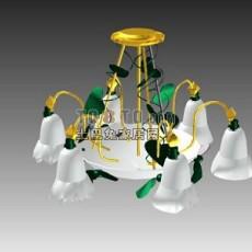 灯具a001-89套3d模型下载