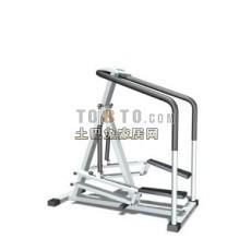 跑步机、健身器等室内建设器材113d模型下载