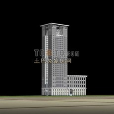 现代建筑/高楼大厦/商场免费63d模型下载