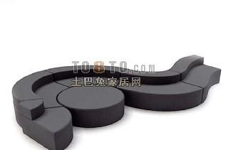 国外精品沙发6-5套3d模型下载