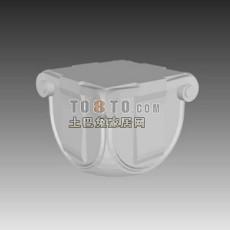 欧式构件005(84套)3d模型下载