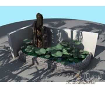 景观设计3D模型下载73