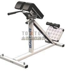 跑步机、健身器等室内建设器材73d模型下载