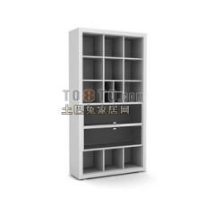 办公柜-文件柜8-5套3d模型下载